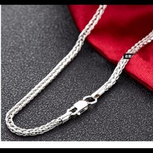 50CM 18K Yellow Gold Chain Necklace For men Suitable for Pendant Fine Jewelry Real Chain think gold chain(China)