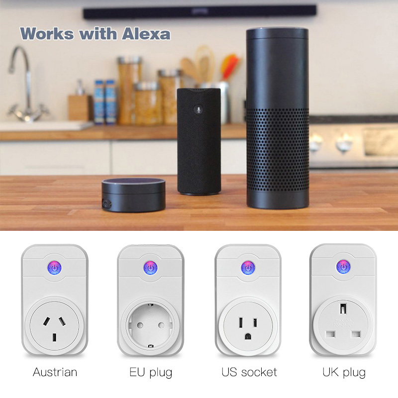 UK plug timer Control smart home automation Wifi Socket Plug remote Control for iphone ipad Android
