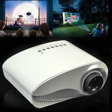 Portable mini HD Home Cinema Theater Multimedia LED LCD Projector HD 1000:1 Support HD 1080P USB PC AV TV VGA HDMI free shipping