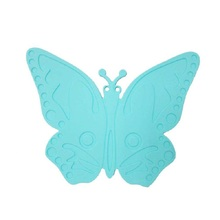 High Quality Butterfly Silicone Waterproof Oil-proof Insulation Placemat Wholesale Price Apr13