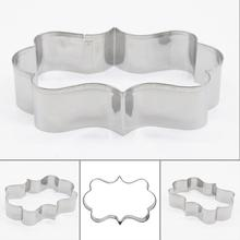 European Style Stainless Steel Cookie Cutting Mold Cookie Cutter for DIY Hand Baking Tools free shipping(China)