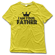 CHI Men T-Shirt I am your father 100% Cotton geek funny Shirts men 2017 Brand New Arrival Style tee