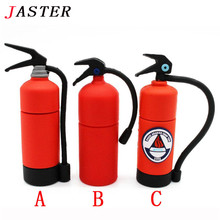 JASTER fire extinguisher USB flash drive 4GB 8GB special cute pen-drive 16GB 32GB 64GB mini Memory Stick pendrive gifts creative
