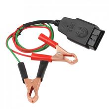24W OBD2 Car Diagnostic Cables & Connectors Memory Saver ECU Power Interface Connector Vehicle ECU Emergency Power(China)