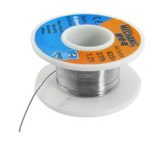 0.6mm 63/37 Tin Lead Alloy Rosin Cored Soldering Wire Cable Reel Spool