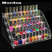 5 Tiers Jewelry Display Stand Holder Makeup Cosmetic Clear Acrylic Organizer Lipstick Nail Polish Rack 31*22.3*17cm