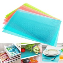 4pcs/set Can Tailor Refrigerator Mat Waterproof Tableware Placemat Heatinsulated Dining Tables Place Pad For Kitchen Accessories