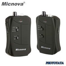 Micnova Flash Trigger with Motion Light Sound 3 Triggering Mode Shutter Trigger Compatible for Canon Nikon Sony Olympus Cameras