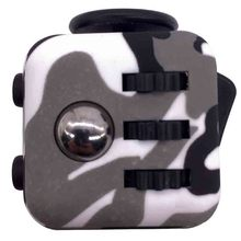 4 Colour Mini Fidget Cube Toy Vinyl Desk Finger Toys Squeeze Fun Stress Reliever 3.3cm Hand Spinner Antistress Cube