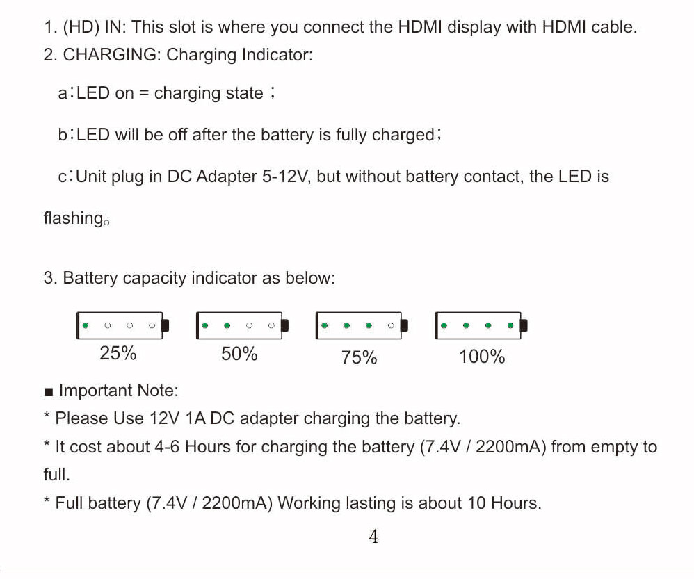 HSV191Bat HDMI to SDI Converter with Battery Charging 1080p Mini HDMI to SD-SDI HD-SDI 3G-SDI Adapter Converter (19)