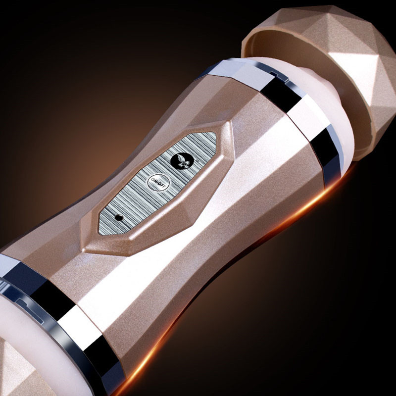 Automatic Sucking Dual Hole Masturbator For Men Anal Masturbation Cup Vagina Real Pussy Oral Aircraft Cup Sex Toys Passion Cup 7