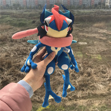 2017 Plush Greninja Stuffed Animal Doll Cute Toys Christmas Kids Gift 26cm