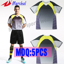 Hot sale quick dry top quality blank soccer jersey