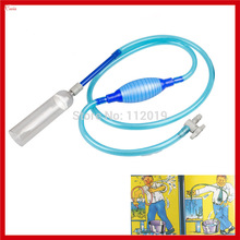 New Aquarium Fish Tank Washer Gravel Cleaner Siphon Water Filter Water Transfer Pump + Switch Accessory