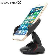 Mouse Car Holder Automatic Windshield Dashboard Mobile Phone Holder 360 Rotatable Stand Mount Display Extendable GPS Support