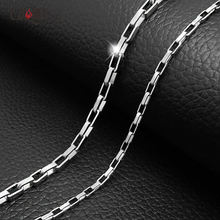 2016 New Arrives Stainless Steel Men Necklaces Long Design Luxury Box Chain Necklaces For Birthday Gifts