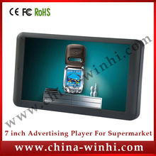 7 inch portable HD car flac lcd tv advertising media player Auto play Speedy Delivery