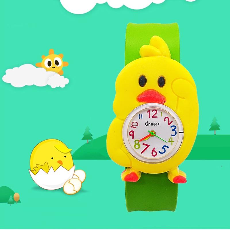Trustful 3d Cartoon Lovely Football Kids Girls Boys Children Students Quartz Wrist Watch Very Popular Wristwatches Clock Style Easy To Repair Watches