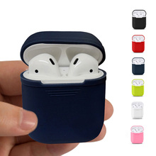 2017 New Silicone Case Soft TPU Ultra Thin Protector Cover For Apple Airpods Sleeve Pouch Earphone Case(China)