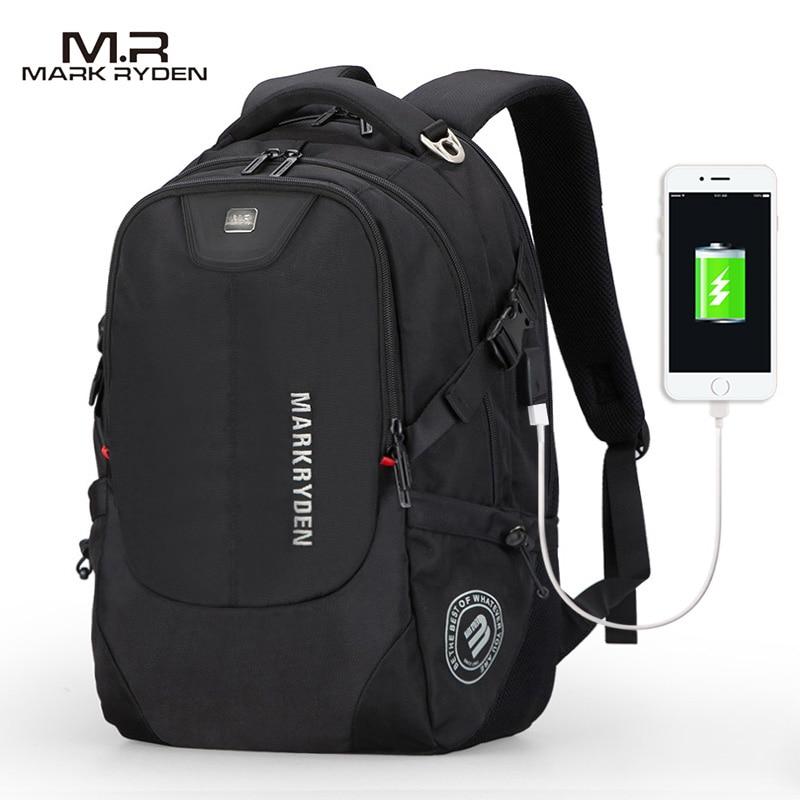 2018 New Mark Ryden Mens Backpacks Bolsa Mochila for Laptop 15 Inch 16 Inch Notebook Computer Bags Men Backpack School Rucksack<br>