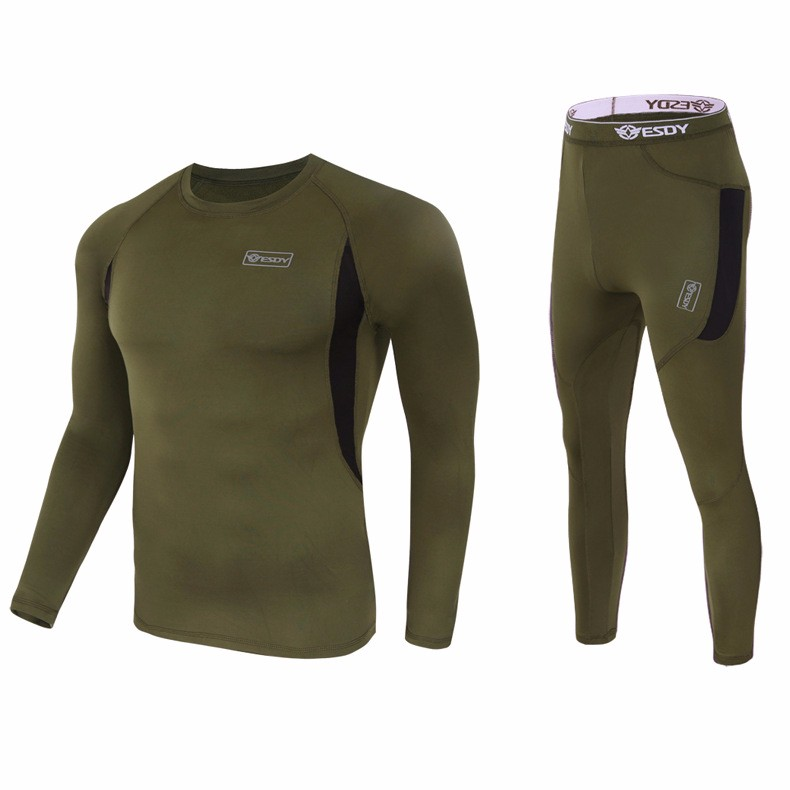 Tactical-outdoor-Fleece-T-shirts-and-Pants-Hunting-Clothing-Suit-Army-Sport-Hunting-Clothes-breathable-Tactical (2)
