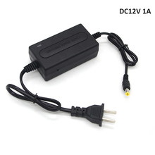 LEF DC12V 1A CCTV Power Supply 100-240V Converter Adapter for CCTV Surveillance Camera System(China)