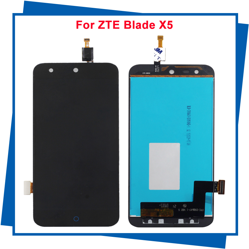 For ZTE Blade X5  B880 D3 T630 Touch Screen Digitizer Assembly Replacement 100% Tested<br><br>Aliexpress