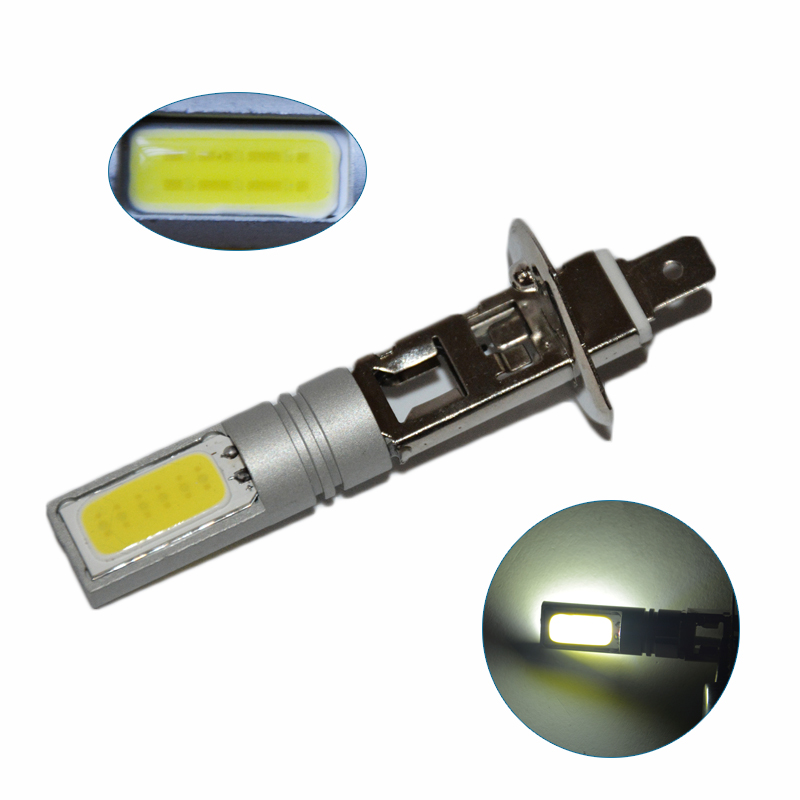 2PCS H1 Car COB LED Bulb 80W Xenon High Power Car Fog Driving Lamp White Light 6000K Car Led Light Wholesale<br><br>Aliexpress