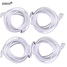 ZINUO 4Pin RGB Led Strip Extension Cable Wire 1M 2M 5M 30CM For 5050 3528 Strip Light Extension Extend Wire Cord Connector