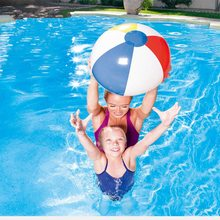 9'' 23cm Colorful Inflatable PVC Pool Beach Ball Blow up Toy Panel Holiday Party Swimming Garden Toy Summer Hot Sale Toys