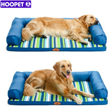 HOOPET Ultimate All Seasons Couch Style Headrest Edition Pillow Top Orthopedic Pet Bed & Lounge for Dogs and Cats