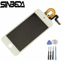 Best Price Display For ipod Touch 5 5th LCD Touch Screen Display with Digitizer Full Assembly Touch 6th 6 Screen(China)