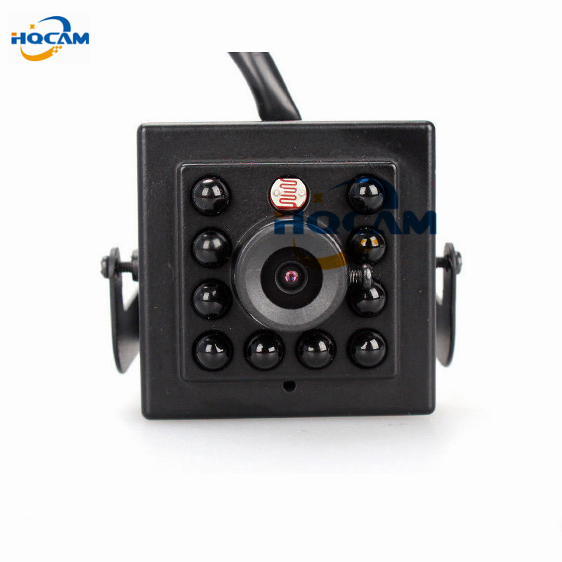 HQCAM 1/3 Sony CCD effio-a 4151+673/672 800TVL CCTV Color 10pcs 940nm led Night Vision camera Indoor Mini ir camera security <br>