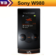 Original Sony Ericsson W980 Cheap Cell Phone Singapore Post Free Shipping