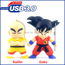USB creative 64gb,Bulk pen drive cartoon Dragon Ball gift 8gb 16gb 32gb USB3.0 flash drive Memory Stick pen drive, Free shipping
