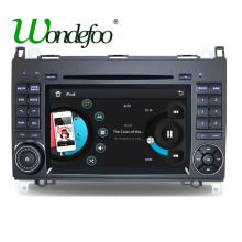 For Mercedes Benz Sprinter B200 W209 W169 W169 B-class W245 B170 Vito W639 two DIN Car DVD player Radio GPS multimedia stereo(China)