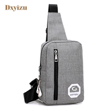 New England style Polyester Messenger Bags Zipper Solid Men's Cross body Bag High Quality shoulder bag Versatile bags