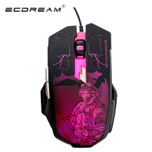 2016 New 2400 DPI 6 Buttons colorful Backlight LED Optical USB Wired Mouse Gamer Mice computer mouse Gaming Mouse For Pro Gamer