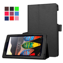 Buy Lenovo Tab 3 7 Essential 7.0 / 710F TB3-710F TB3-710i 710i TB3 710 Tab3 Tablet Case Bracket Flip Leather Cover for $6.99 in AliExpress store