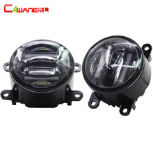 Cawanerl 2 X Car Light Source Fog Light LED DRL Daytime Running Lamp For Nissan Interstra Pathfinder Frontier Navara Note Sentra