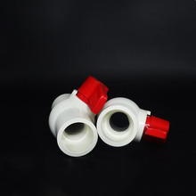 Pvc pipe ball valve switch / water flow controller / water pipe fittings 25MM X5