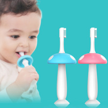 Buy Silicone Kids Teether Training Toothbrushes Children Baby Toothbrush Infant Newborn Dental Oral Care Brush Tool for $2.49 in AliExpress store