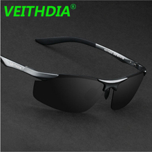 VEITHDIA Aluminum Magnesium Brand Designer Polarized Sunglasses Men Glasses Driving Glasses Summer 2017 Eyewear Accessories 6529(China)