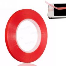 50m x 10mm Width Silicone Double Sided Tape Sticker For Car, High Strength No Traces Double Sided Adhesive Sticker