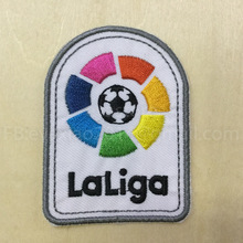 1 pcs a lot 2016-2017 LFP patch New La liga patch player version game patch backpage patch Embroidery