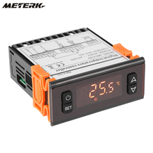 Meterk Digital LED Temperature Controller Thermostat Regulator Thermocouple Thermometer -50~120 Celsius Degree weather station(China)