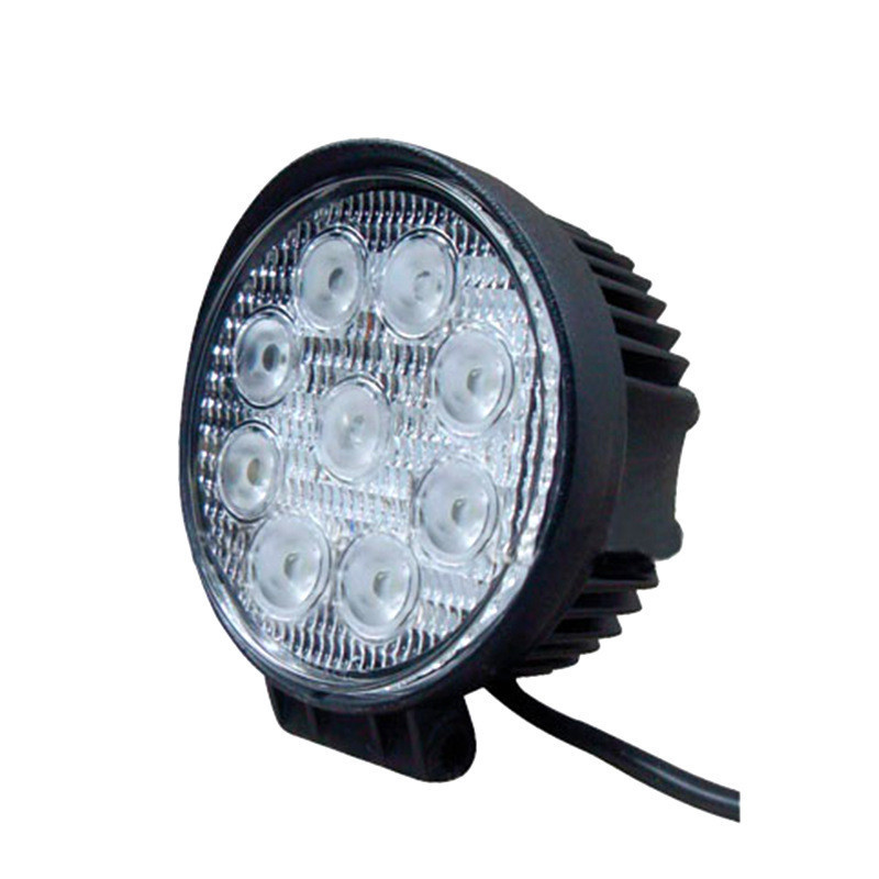 4 Inch 27W 12V 24V LED headlight headlamp bulb Spot Flood Round LED Offroad Lamp Worklight for Off road Motorcycle Car Truck New<br><br>Aliexpress