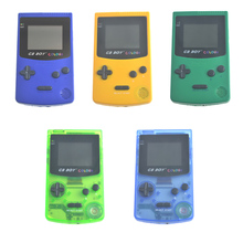 GB Boy Color Colour Handheld Game Consoles Game Player with Backlit 66 Built-in Games 5 Colors GB Boy Hand Held Games(China)
