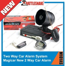 Free shipping English manual two way car alarm system Magicar M101AS with LCD remote engine starter Scher-Khan Magicar M101AS