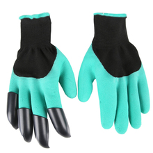 Outdoor As Seen On TV Digging Glove Hiking Mountain Camping Gloves Hand Protecting Glove(China)